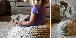 Comfortable Homes Super Crochet Pouf Bag To Comfortable Homes Free Pattern