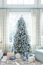 Christmas Tree Home Decorating Ideas Best 25 Blue Christmas Decor Ideas On Pinterest Blue Christmas