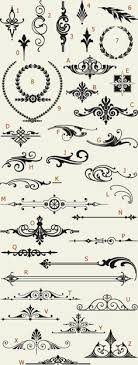 letterhead fonts lhf americana ornaments golden era studios