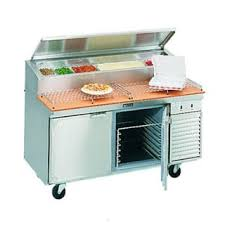Refrigerated Prep Table by Larosa 2562 Ptb 62