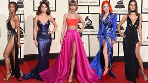 E Red Carpet Grammys Grammys 2016 Plunging Necklines And Sky High Slits Rule The Red