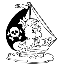 pirate ship coloring pages getcoloringpages