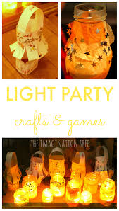 light party crafts and games for kids the imagination tree