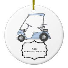 golf cart ornaments keepsake ornaments zazzle