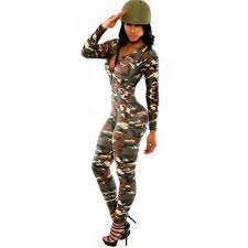 camouflage jumpsuit womens camouflage jumpsuit romper fitness slim bodysuit romper be