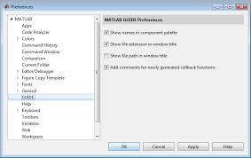 layout editor comparison guide preferences matlab simulink