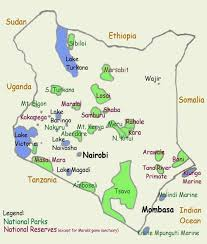 Map Of Tanzania Africa by Top Tourist Attractions In Tanzania Tourist Map Rift Valley And