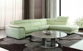 Green Leather Sectional Sofa Green Leather Sectional Sofa Ezhandui