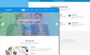 free templates for business websites free bootstrap 4 business website template for an enticing online