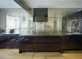 Mirrored Backsplash Tiles  Great Home Decor Stunning With - Mirrored backsplash