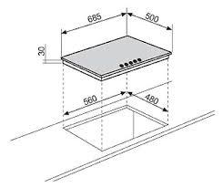 glem piani cottura glem p5gfxv piano cottura incasso 70cm inox 5 fuochi valvolato