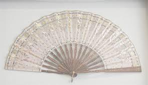 silk fan 19th century carved sandalwood silk fan worthington galleries