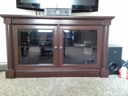 Tv Tables At Walmart Better Homes And Gardens Ashwood Road Cherry Tv Stand For Tvs Up