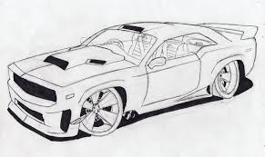 pictures to draw how to draw a muscle car drawing pinterest