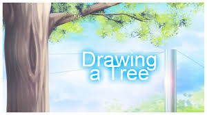 speedpaint tutorial drawing a tree with paint tool sai
