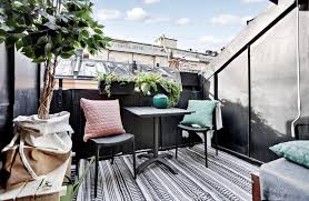 inspirasi desain untuk balkon dan teras sempit rumah dan gaya