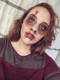 easy zombie makeup with everyday makeup halloween pinterest