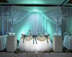 Wedding Reception Room Decorations For Couples Sweetheart Table At Wedding