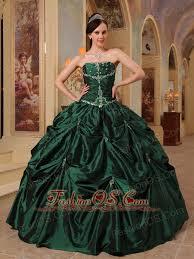 green quinceanera dresses green quinceanera dress strapless beading taffeta gown