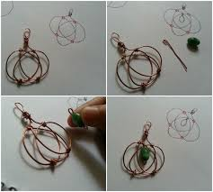 easy fall craft wire projects jewelry making blog information