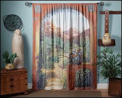 Southwestern Style Curtains Southwestern American Indian Theme Bedrooms Mexican Rustic