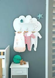 etagere chambre bebe fille porte manteau mural pour chambre bebe