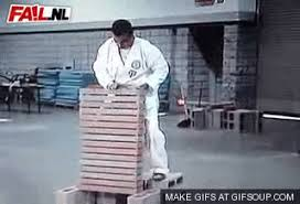 imagenes gif karate karate fail gif by cheezburger find share on giphy