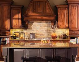 rustic cherry cabinets kitchen traditional with kitchen