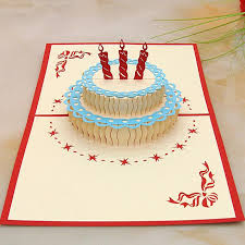 happy birthday 3d pop up handmade laser cut vintage cards birthday