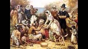 pilgrims thanksgiving feast samoset and squanto youtube