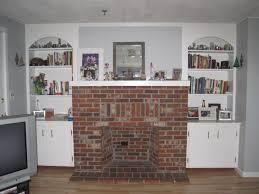 build stacked stone backyard fireplace on interior design ideas