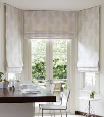 Kitchen Window Curtains by Mounted From Ceiling Roman Blinds Kitchen Inspiration Ideas