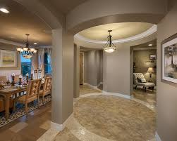 hall space in trestle place finished mediterranean home decor