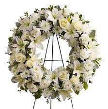funeral flowers delivery serenity funeral flowers wreath 1 800 florals flower delivery