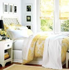 Pottery Barn White Duvet Nicole Miller Bedding 3 Piece Full Queen Duvet Cover Gray Yellow