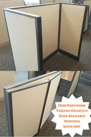 open office desk dividers 66 best office dividers room dividers used office partitions