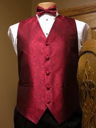 apple red paisley vest men u0027s satin vest with adjustable back