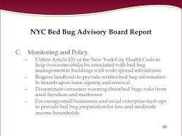 Bed Bugs New York City Bed Bugs In The Workplace Ppt Download