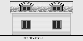 House Dormer 2 Car Garage Plans Garage Plans With Storage Dog House Dormer
