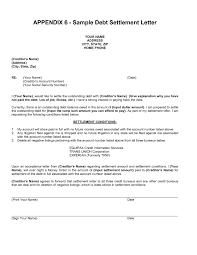 settlement letter example the best letter sample