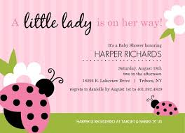 girl baby shower girl baby shower invitations from purpletrail