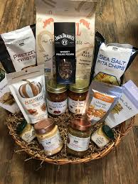 non food gift baskets snack gift basket dash of thyme