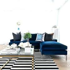 navy blue velvet sofa navy blue velvet couch chaise lounge sapphire sofa with and black