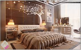 luxury bedroom design ideas with a awesome wall decoration will