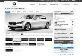 bmw 7 series maintenance cost you can now configure your 2016 bmw 7 series