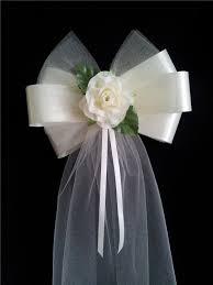 wedding bows pew bow ideas pew bow diy wedding crafts