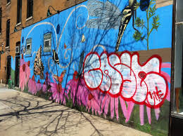 what s the difference between street art and graffiti tagging picture