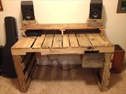 build a computer desk plans homemade computer desk plans diy