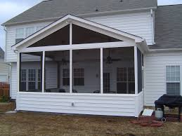 Enclosed Patio Designs by Designer Metal Frames Of Screen Porch Ideas For Attached Patio