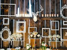 wedding backdrop rustic wedding in a barn inspired by this